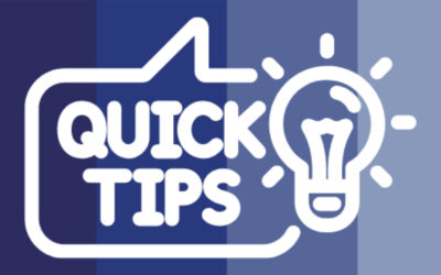 Welcome to our Blog and QuickTip Video